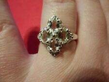 Golden Beryl Ring in 925 Sterling Silver-Size 8-TGW 1.48 Carats
