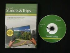 Microsoft Streets and Trips 2009 DVD Software Windows W/ Product Key