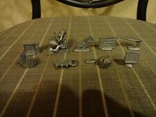 2000 Monopoly The .Com Edition Pewter Tokens Pawns Replacements Game Parts