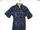 Mens Shirt NWT LRG Lifted Research Group Logo Navy XL X Large 1X Short Sleeve