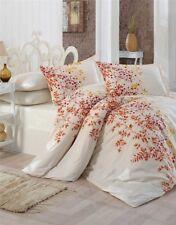 Bettwäsche 200x200 cm Bettgarnitur Bettbezug Baumwolle Kissen 5 tlg SAHRA GELB
