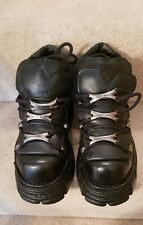 New Rock boots or shoes, New, Black, size 7 / 40
