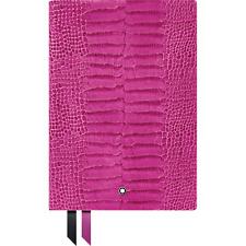 Montblanc Fine Stationery Fuchsia Croco Print Journal / Notebook #146~ Brand New