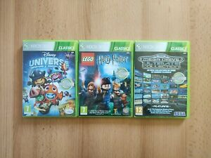 Job Lot 3 x KIDS Games Bundle for XBox 360 - Disney Universe, Lego Harry Potter