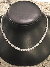 14KT WHITE GOLD 6.50 CARATS TW DIAMOND NECKLACE