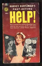 "1961 Harvey Kurtzman's ""Fast Acting Help"" Paperback (VG+) WH"