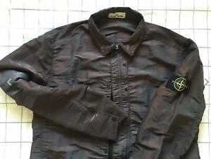 "Stone Island Nylon Metal Weft  Jacket 100% Genuine XL P2P 23"""