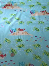 Michael Miller Meetin' At The Reef Seaside Cotton Quilting Fabric FQ 50cm x 54cm