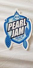 Pearl Jam Vedder sticker Tulsa OK