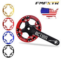 US FMFXTR 32-42t Aluminum Alloy 104BCD MTB Bike Chainring Crankset Protect Cover