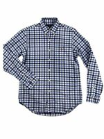 Ralph Lauren Polo Mens Oxford Plaid Multi-Colored Pony Logo Button Down Shirt Ne