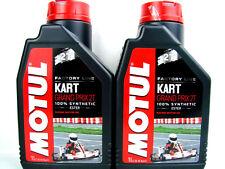 Motul 105884 Kart Grand Prix 2T 1liter