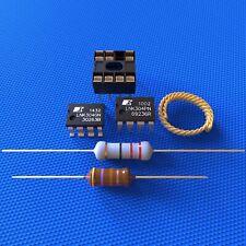 LNK304PN + Sockel + LNK304GN + Widerstand 22 Ohm + Drossel 470µH + Entlötlitze