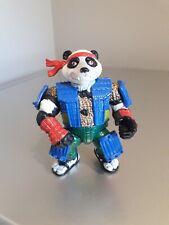 Very Rare Vintage Teenage Mutant Hero Turtles Panda Khan Figure 1990