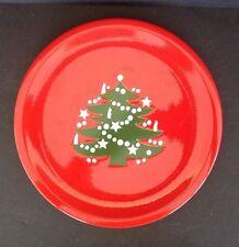 Waechtersbach Christmas Tree Serving Plate  Small Platter 10 in Round