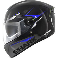 SHARK SKWAL Metador Black / Silver / Blue Full face motorcycle helmet - Re Boxed