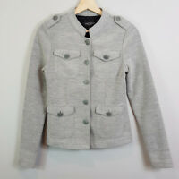 JUST JEANS | Womens Grey Mlitary Officer Jacket [ Size AU 6 or US 2 ]