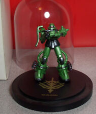 Extremely Rare MS-06J Zaku Gundam Statue Mobile Fighter Gundam Zaku Green