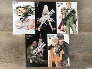 deadman wonderland manga English 1-5