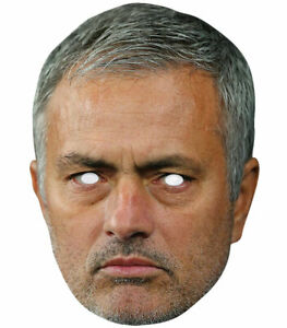 Jose Mourinho Football Celebrity 2D Single Card Party Face Mask