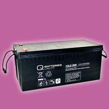 Solar Batterie Solar Akku 12V 214Ah Blei Gel AGM Akku Photovoltaik, zyklenfest