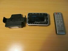 Audiovox Satellite Radio Receiver Xr9 144-2450 Cradle Xc9 136-3771 & Remote