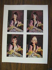 """Disney Haunted Mansion Changing Portrait Painting 8.5"""" x 11""""""""  Poster"""