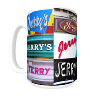 JERRY Coffee Mug / Cup - photos of real name signs