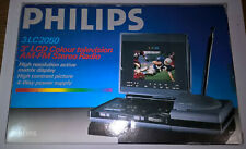 "PHILIPS 3"" LCD Colour Television AM-FM Stereo Radio - High Res.active matrix"