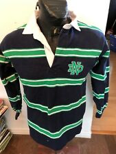 MENS Small Rugby Jersey Barbarian Notre Dame #8
