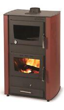 stufa a legna idro con forno 27+8 kw