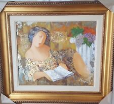 """Arbe - """"Transported"""" Original Mixed Media on Canvas signed with Cert"""
