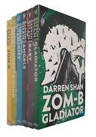 Zom-B Series 6 Book Pack Darren Shan Kids Zombie Horror Thriller Shrink Wrap New