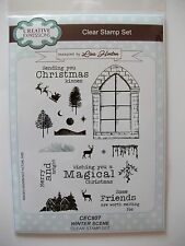 Creative Expressions clear stamp set - Winter Scene