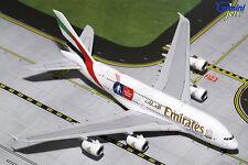 """GEMINI JETS EMIRATES AIRBUS A380-800 """"EMIRATES FA CUP"""" 1:400 DIE-CAST GJUAE1595"""