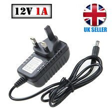 1A AC-DC Power Supply Adapter 12V PSU Charger for CCTV Camera LED Strip UK Plug