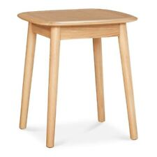 NATSUMI JAPANESE SCANDINAVIAN WOODEN OAK SIDE TABLE