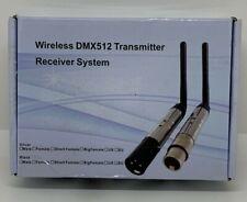 Wireless Dmx 512 Transmitter Receiver System