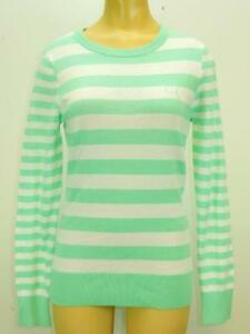 NWT $75 Puma Women Novelty Sweater Cabbage (light green) / White #568356 02
