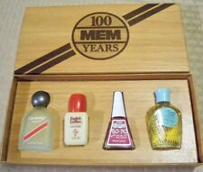 Vintage RARE 100 MEM Years - A collection of Parfum