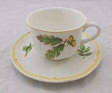 Villeroy & and Boch PARKLAND large breakfast cup and saucer Jumbotasse