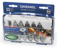 EZ Lock Cut Off Wheel Kit,11 Pc DREMEL EZ688-01