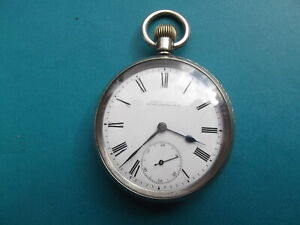 Omega Pocket Watch Circa 1900 with New Zealand Retailer.