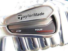 Used TaylorMade Tour Preferred CB (4-P) Iron Set FST KBS Tour Stiff Flex Steel