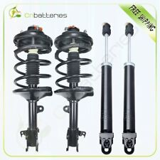 For 2000-2006 Nissan Altima 2 Quick Loaded Complete Struts Springs + 2 Shocks