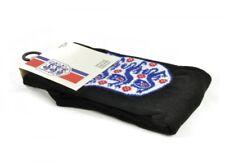 England Crest Black Blue Red Football  Junior Socks 4-6.5 Official Product