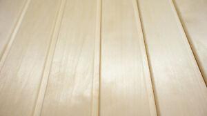 Profilholz Espe Saunaholz Profilholz 15x90x2300mm A Sortierung