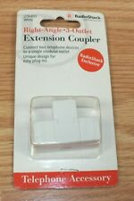 Genuine Radio Shack (279-603) Right Angle 3 Outlet Extension Coupler **READ**