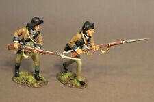 John Jenkins SNY-12 Two Infantry Advancing, 2nd New York Regiment