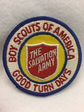 """Boy Scouts -   Boy Scouts of America """"The Salvation Army"""" Good Turn Days patch"""